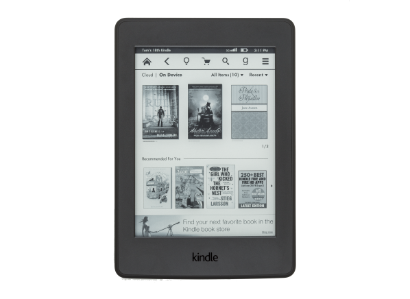 Amazon Kindle Paperwhite w/ Special Offers (WiFi & 3G) (3rd Gen) e-book reader
