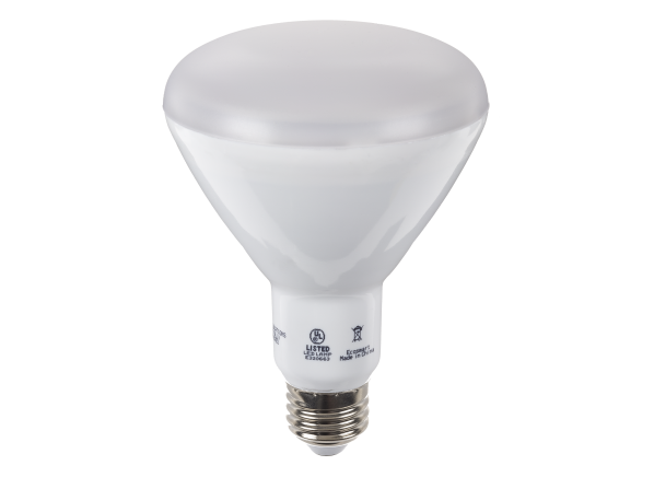 EcoSmart 75W Soft White BR30 Dimmable LED lightbulb