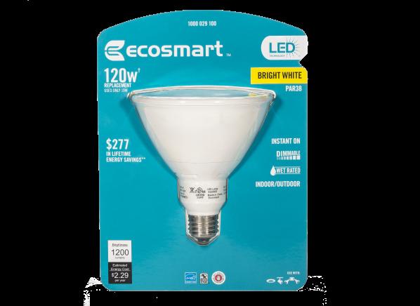 EcoSmart 120W Equivalent Bright White PAR38 Dimmable LED lightbulb