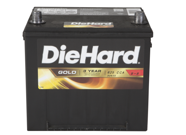DieHard Gold 50835 (North) car battery