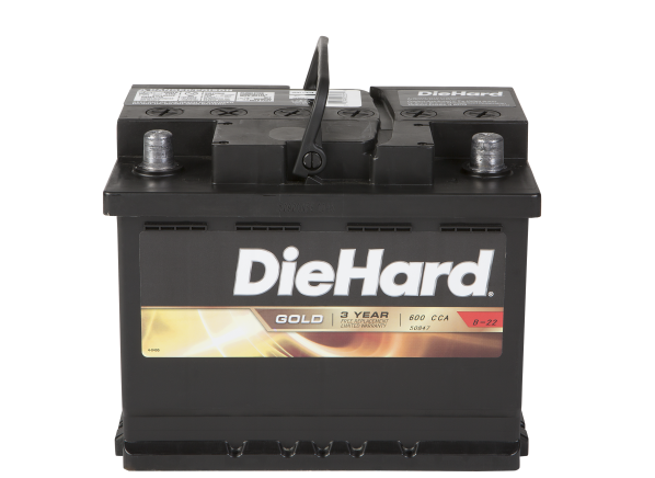 DieHard Gold 50847 (North) car battery