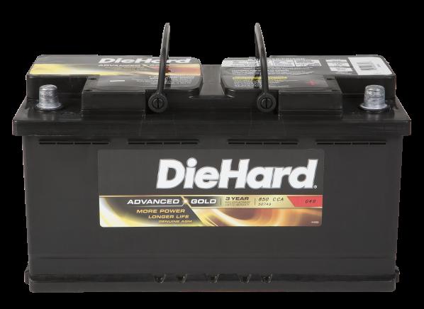 DieHard Advanced Gold AGM 50749 car battery
