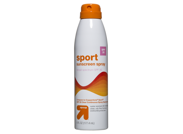 Up & Up (Target) Sport Spray SPF 30 sunscreen