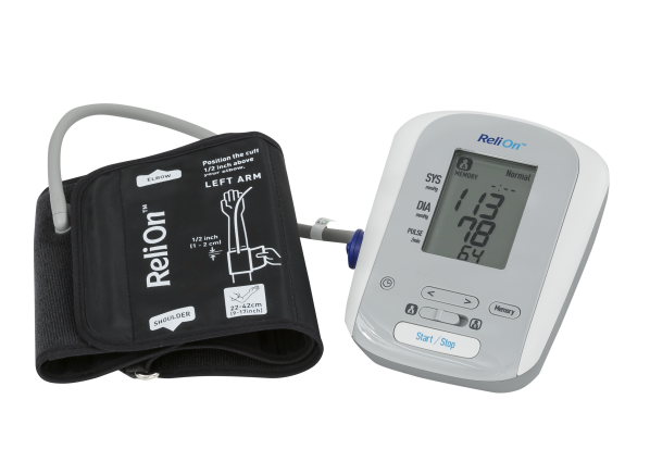 ReliOn (Wal-Mart) BP200 HEM741CRELN4 blood pressure monitor