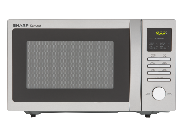 Sharp R248bs Microwave Oven Dimensions