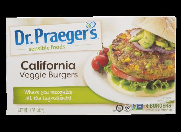 Dr. Praeger's California veggie burger