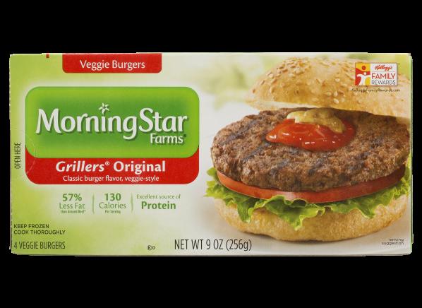 Morningstar Farms Grillers Original Veggie Burger Consumer