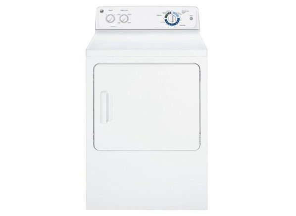 GE GTD42GASJWW clothes dryer
