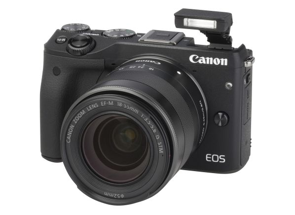 Canon EOS M3 w/ EF-M 18-55mm f/3.5-5.6 IS STM camera