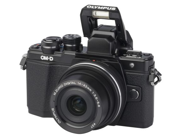 Olympus OM-D E-M10 Mark II w/ 14-42mm f/3.5-5.6 EZ camera