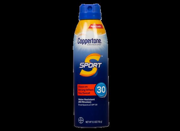 Coppertone Sport Spray SPF 30 sunscreen