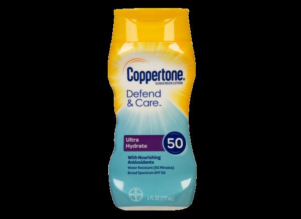 Coppertone Defend & Care Ultra Hydrate Lotion SPF 50 sunscreen