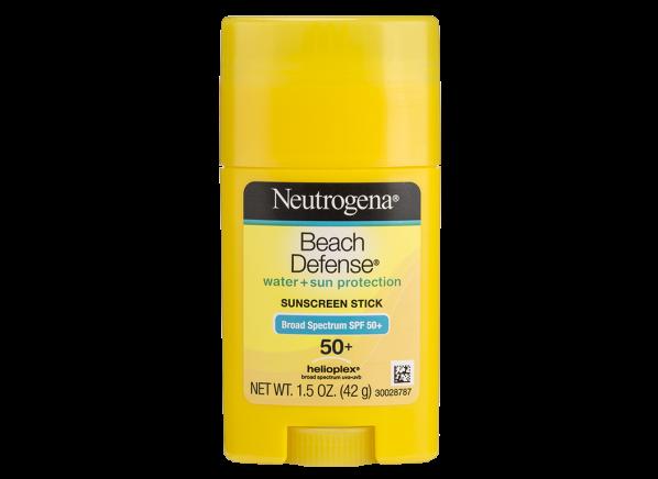 Neutrogena Beach Defense Water + Sun Protection Stick SPF 50+ sunscreen