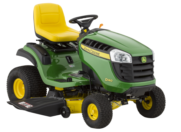 John Deere D140 48 Riding Lawn Mower Tractor