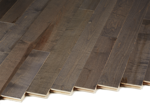 Lumber Liquidators Builder's Pride Select Pewter Gray Maple 10040807 flooring
