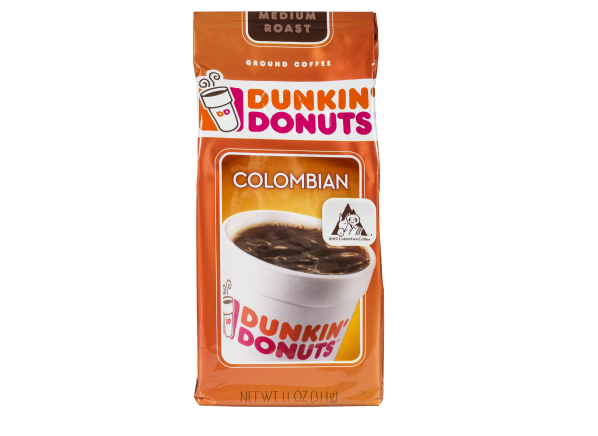 Dunkin' Donuts Colombian ground coffee