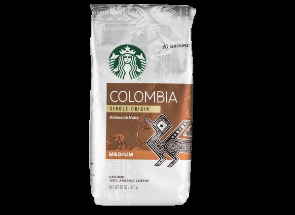 Starbucks Colombia ground coffee