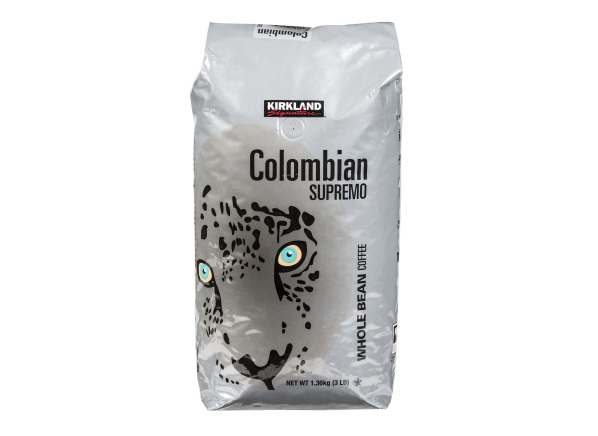 Kirkland Signature (Costco) Colombian Supremo whole bean coffee