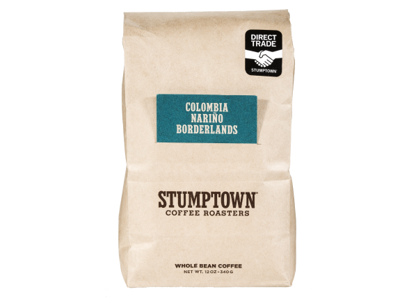 Stumptown Coffee Roasters Colombia Narino Borderlands whole bean coffee