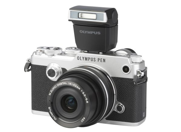 Olympus Pen-F w/ 14-42mm 1:3.5-5.6 EZ camera
