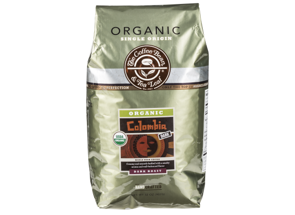 The Coffee Bean & Tea Leaf Colombia Organic whole bean coffee