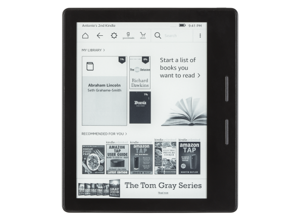 Amazon Kindle Oasis w/ Special Offers (WiFi) e-book reader