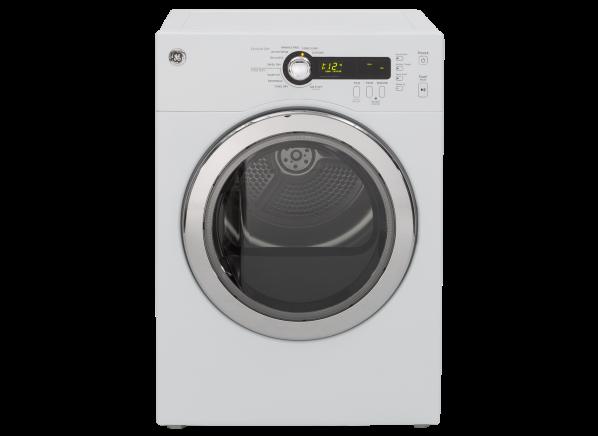 GE DCVH480EKWW clothes dryer