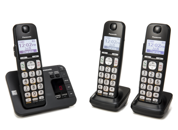 Panasonic KX-TGE433B cordless phone - Consumer Reports