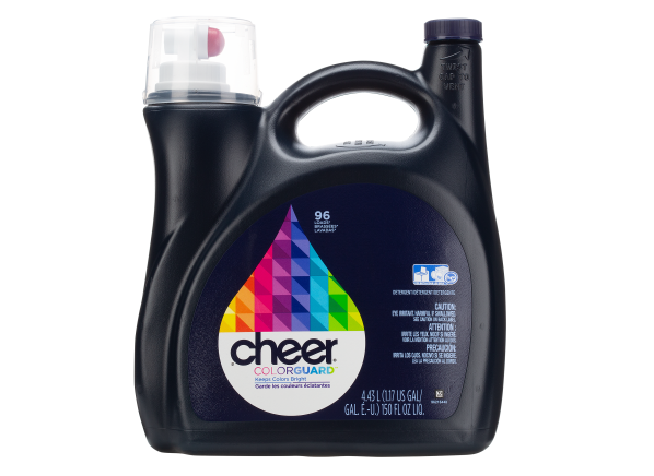 Cheer Colorguard laundry detergent