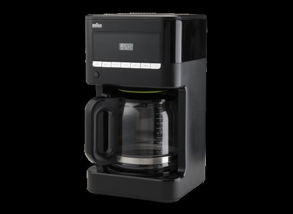 Braun BrewSense 12-cup Programmable KF7000BK coffee maker