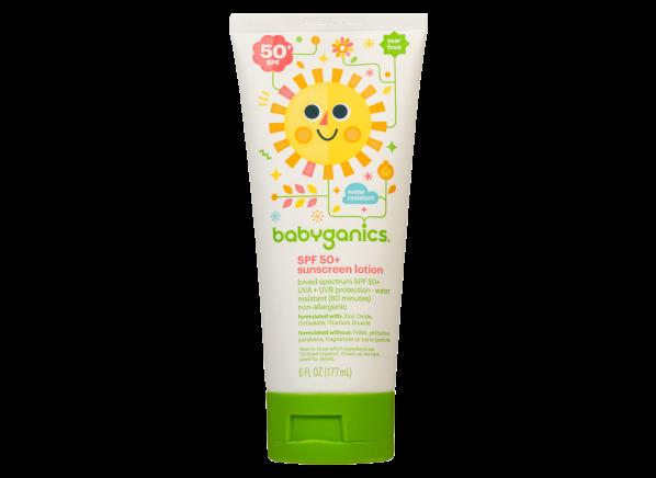 babyganics Sunscreen Lotion SPF 50+