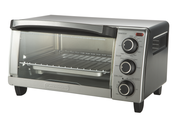 Black+Decker 4-Slice TO1755SB toaster oven