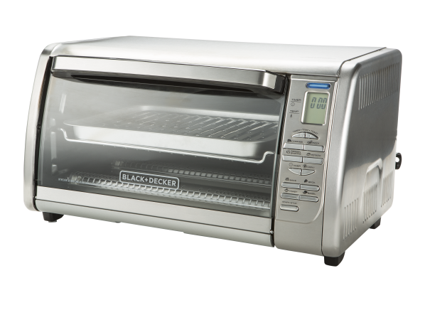 Black+Decker 6-Slice Digital Convection CTO6335SS toaster oven