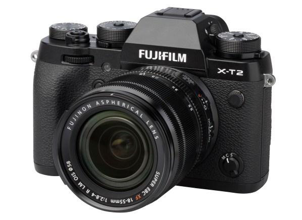 Fujifilm X-T2 w/ XF 18-55mm f2.8-4 R LM OIS camera