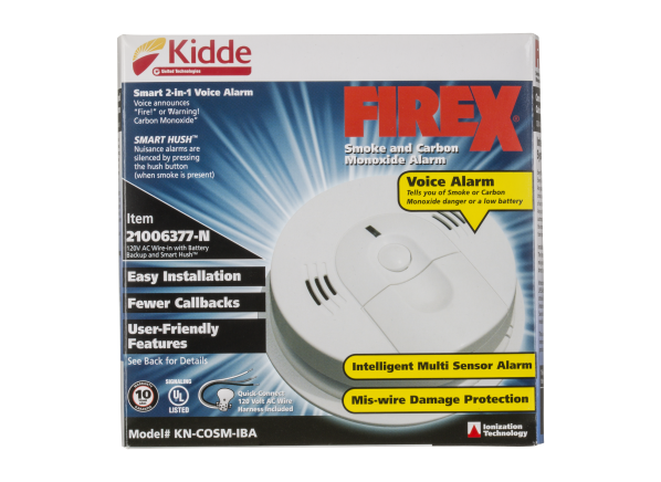 Kidde KN-COSM-IBA carbon monoxide detector