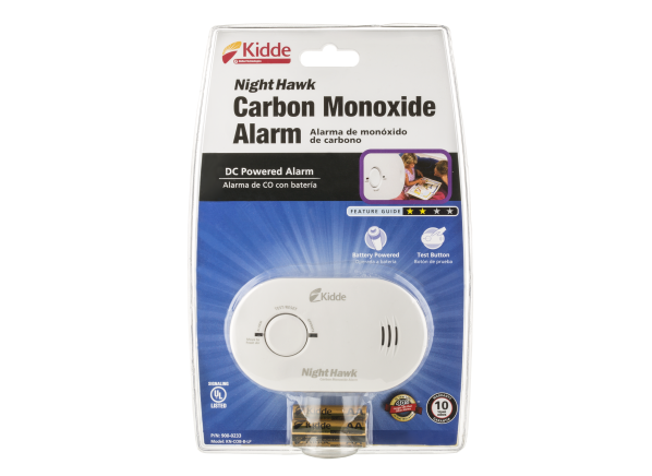Kidde Nighthawk KN-COB-B-LP carbon monoxide detector
