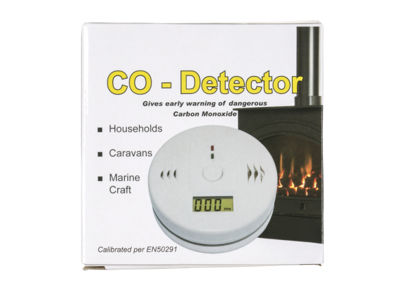 GoChange 882 LCD Portable Carbon Monoxide Poisoning Monitor Alarm