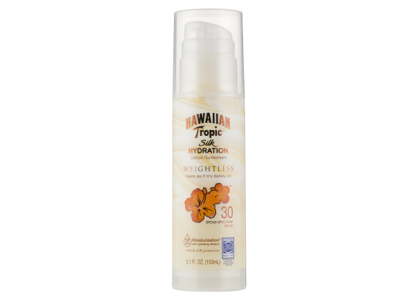 Hawaiian Tropic Silk Hydration Weightless SPF 30 sunscreen