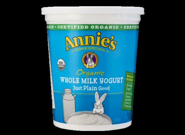 Annie's Organic Plain Whole Milk Yogurt