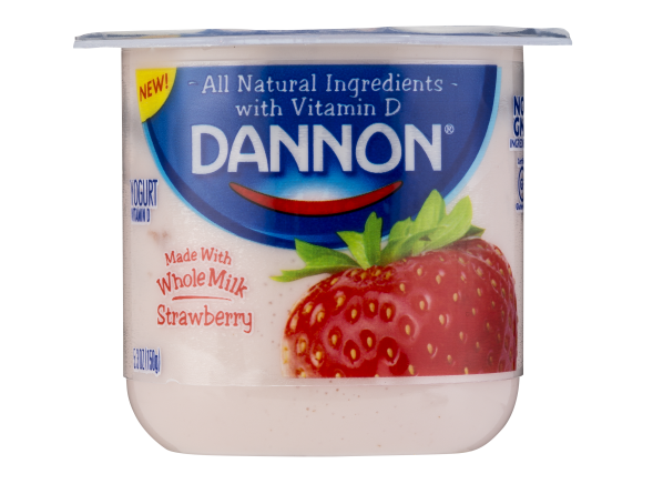 Dannon Strawberry Whole Milk Yogurt
