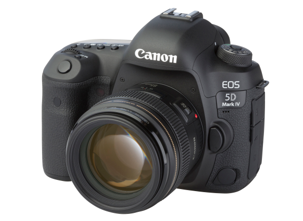 Canon EOS 5D Mark IV w/ EF 85mm 1:1.8 USM camera