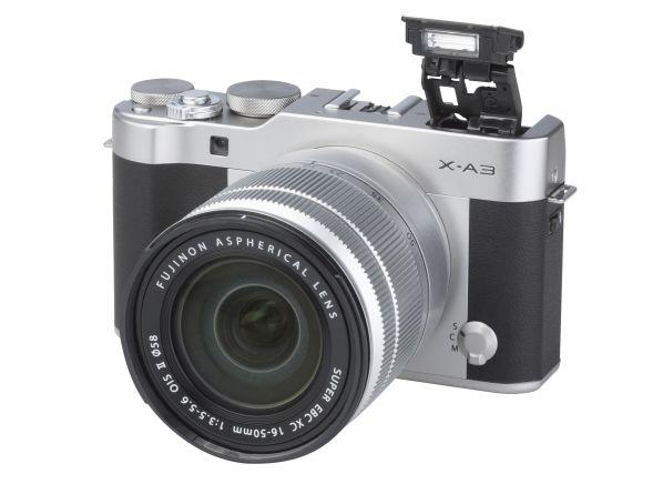Fujifilm X-A3 w/ XC 16-50mm f/3.5-5.6 OIS II camera