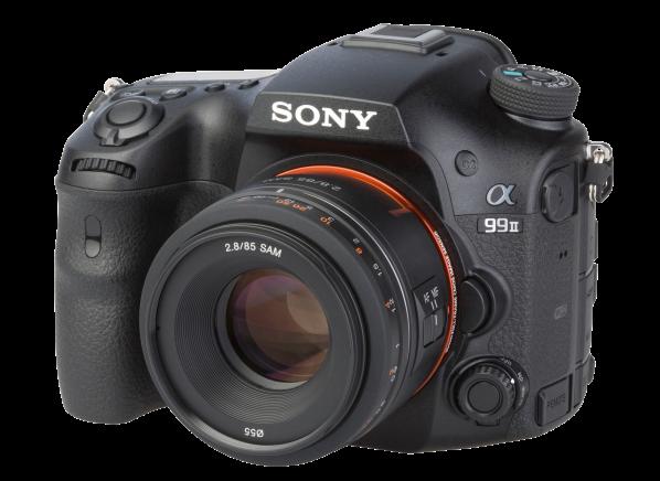 Sony Alpha 99 II w/ 85mm F2.8 SAM camera