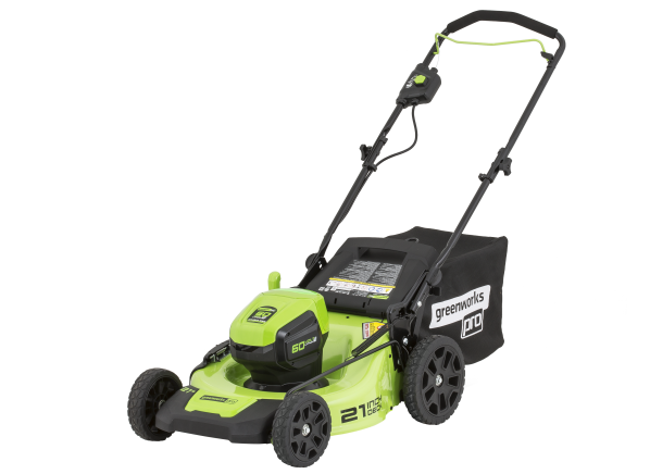 GreenWorks MO60L410 [Item# 725987] (Lowe's) battery mower