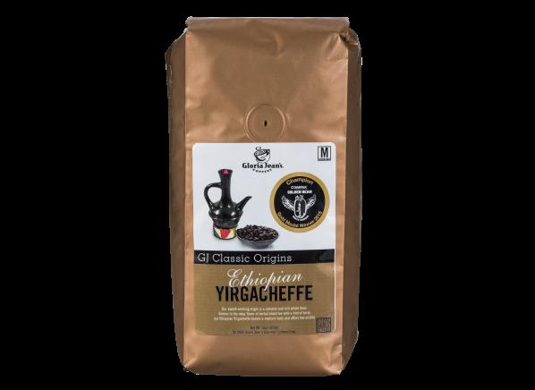 Gloria Jean's Ethiopian Yirgacheffe coffee