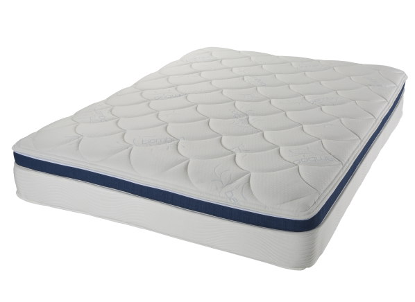 Comfortaire G12 12 Inch Faux Euro Zip Top Mattress