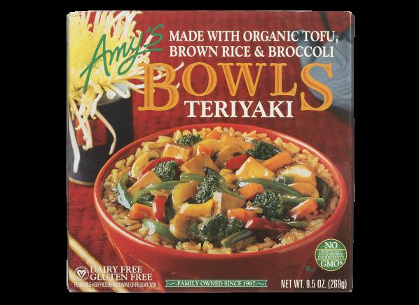 Amy's Bowls Teriyaki frozen food