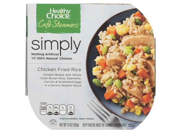 Healthy Choice Café Steamers Simply Chicken Fried Rice frozen food