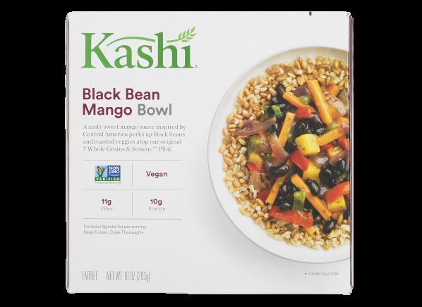 Kashi Black Bean Mango Bowl frozen food