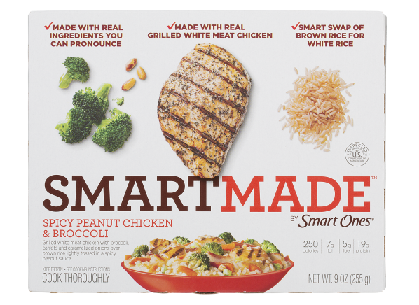 Smart Ones SmartMade Spicy Peanut Chicken & Broccoli frozen food